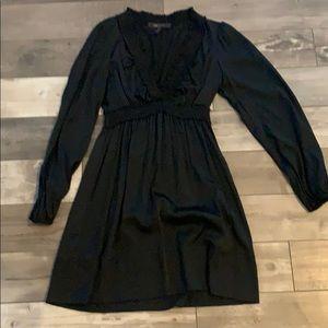 Black BCBG silk dress